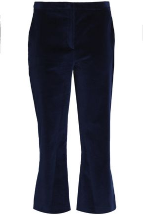ALTUZARRA Velvet kick-flare pants