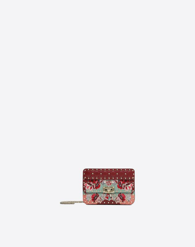 Small Embroidered Spike Bag