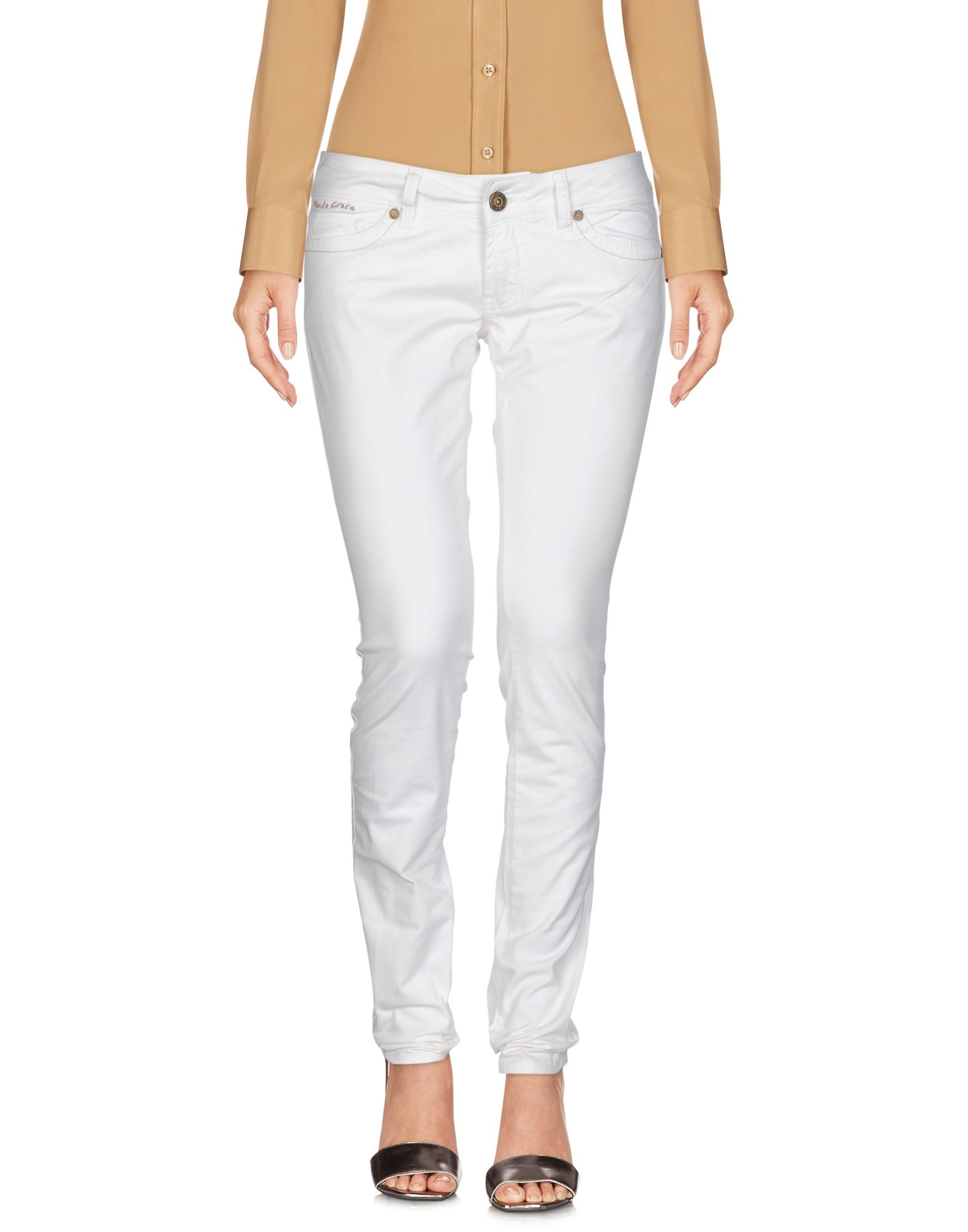 MANILA GRACE Casual Pants in White