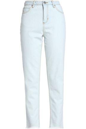 SANDRO Frayed boyfriend jeans