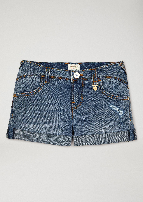 OFFICIAL STORE EMPORIO ARMANI - Pantalons - Shorts on armani.com