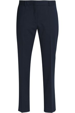 SANDRO Paris Besta printed twill tapered pants