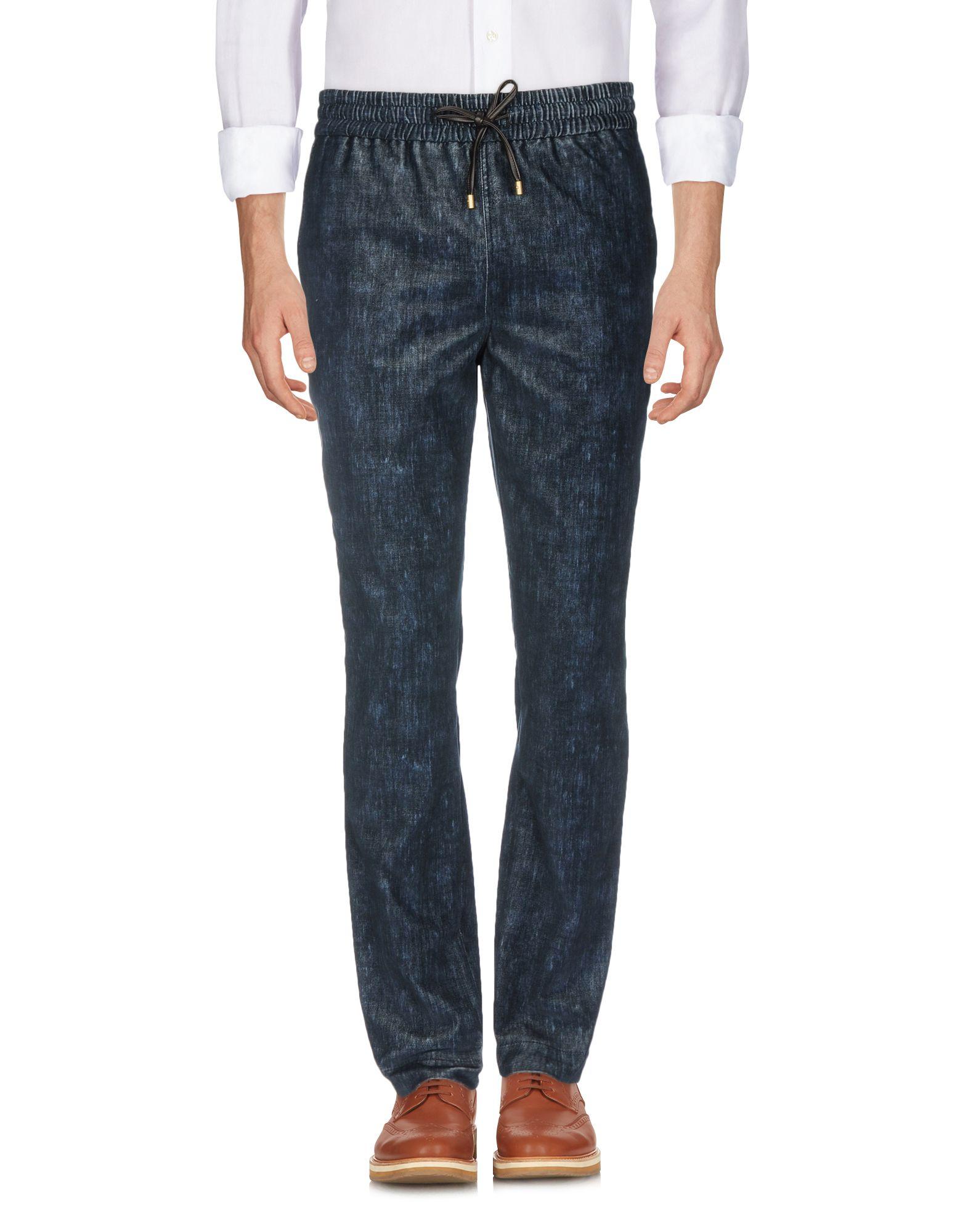 《送料無料》BERNARDO GIUSTI メンズ パンツ ブルー 46 コットン 100%