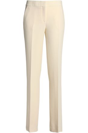 TOM FORD Silk-crepe straight-leg pants