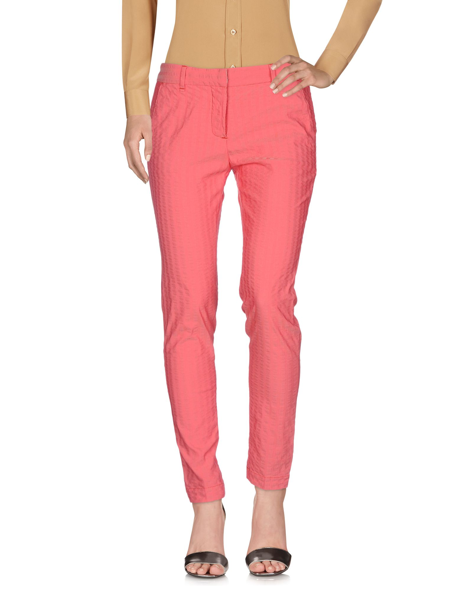PERFECTION Casual Pants in Coral