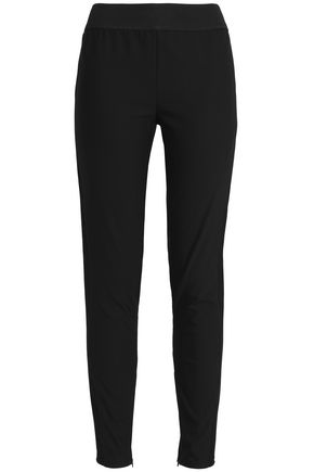 STELLA McCARTNEY Tapered cotton-blend twill pants