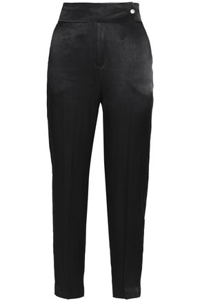 BY MALENE BIRGER Crepe de chine tapered pants