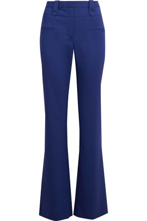 ALTUZARRA Stretch wool-twill flared pants