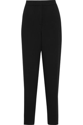 OSCAR DE LA RENTA Wool-blend tapered pants