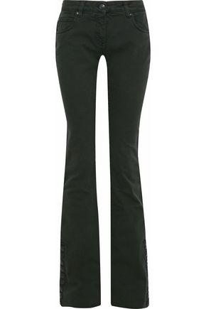 PIERRE BALMAIN Mid-rise bootcut jeans