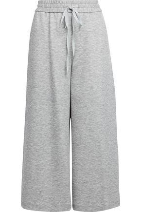 ADAM LIPPES Mélange jersey culottes