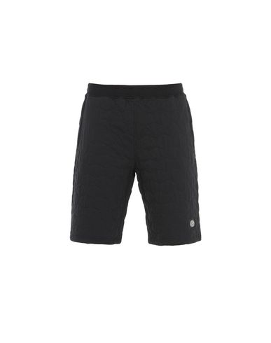 STONE ISLAND FLEECE BERMUDA SHORTS 60954
