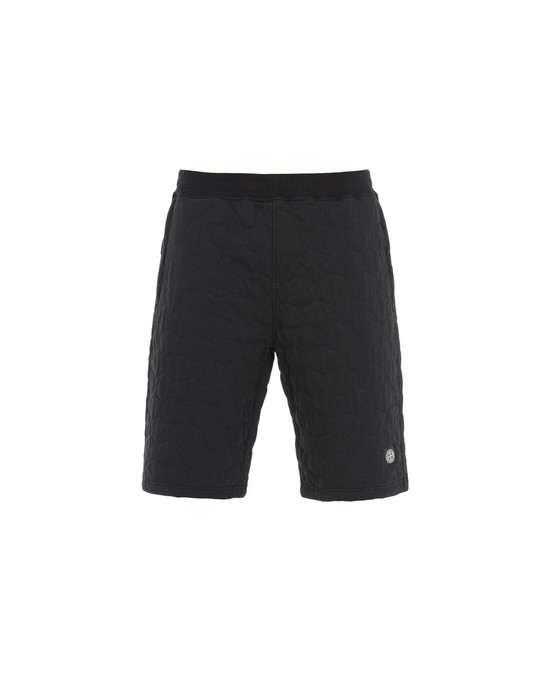 FLEECE BERMUDA SHORTS 60954  STONE ISLAND - 0