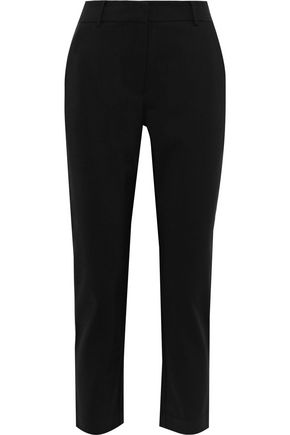 ZIMMERMANN Stovepipe cropped cady slim-leg pants