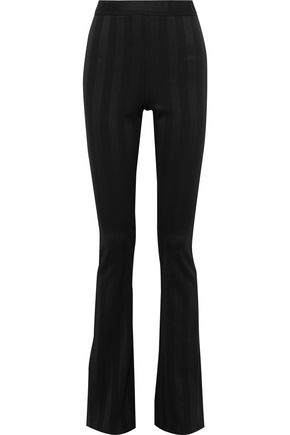 Jacquard Jersey Flared Pants by Pierre Balmain