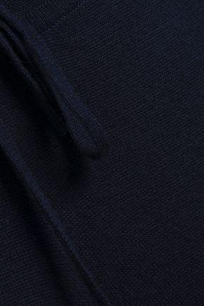 AMANDA WAKELEY Mélange cashmere track pants