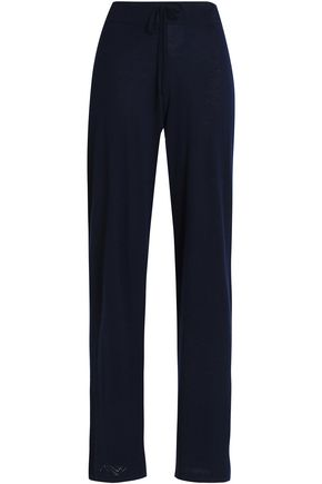AMANDA WAKELEY Cashmere wide-leg pants
