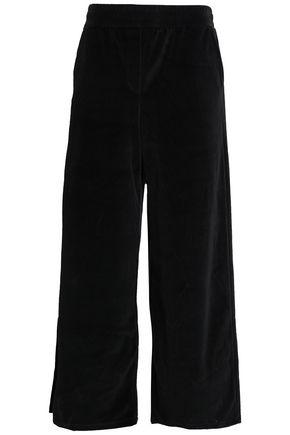 ALEXANDERWANG.T Velvet wide-leg pants