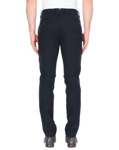 Фото 2 - Повседневные брюки от INCOTEX RED темно-синего цвета