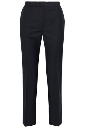 BY MALENE BIRGER Cropped twill straight-leg pants