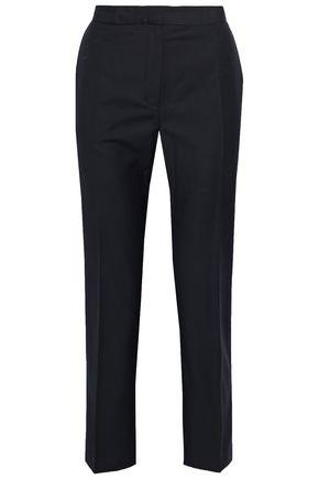 BY MALENE BIRGER Cropped twill straight-leg pants