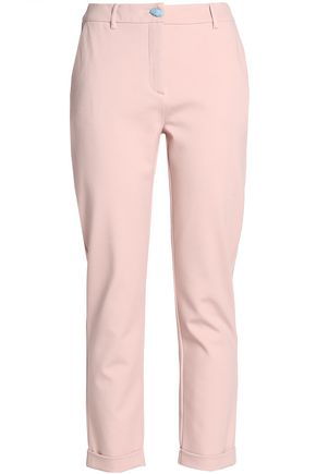 CLASS ROBERTO CAVALLI Stretch-jersey slim-leg pants
