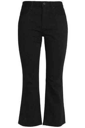 ALEXANDER WANG High-rise kick-flare jeans