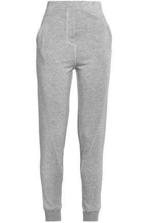 BY MALENE BIRGER Mélange stretch-knit tapered pants