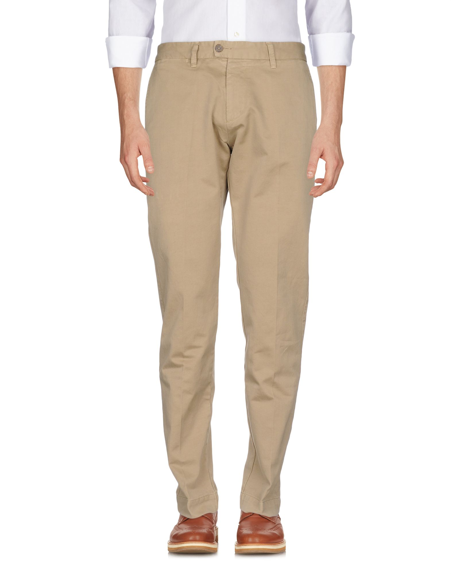 ITALIA INDEPENDENT Casual Pants in Sand