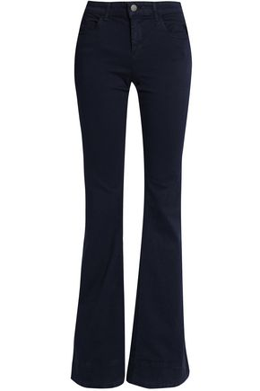 ALICE+OLIVIA Ryley mid-rise flared jeans