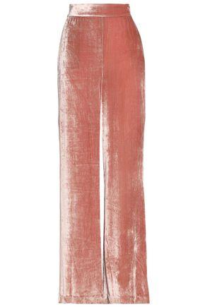 ALICE + OLIVIA Racquel velvet wide-leg pants