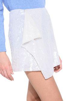 ALBERTA FERRETTI Sequin mini-skirt SEQUINED SKIRT Woman a