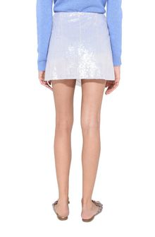 ALBERTA FERRETTI Sequin mini-skirt SEQUINED SKIRT Woman d