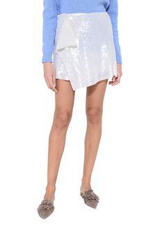 ALBERTA FERRETTI Sequin mini-skirt SEQUINED SKIRT Woman r
