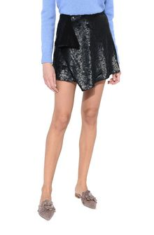 ALBERTA FERRETTI Black sequin Rainbow Week mini-skirt SEQUINED SKIRT Woman r
