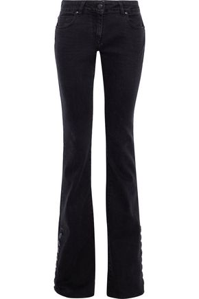 PIERRE BALMAIN Mid-rise flared jeans