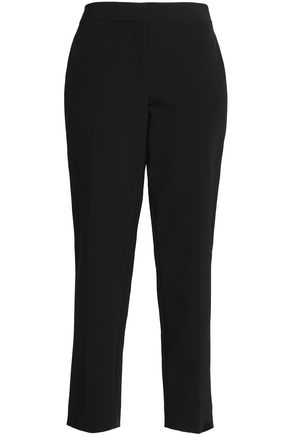 DKNY Cropped crepe tapered pants