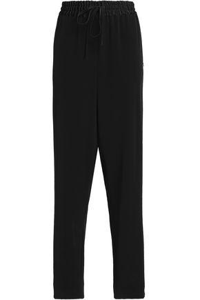 DKNY Faille straight-leg pants
