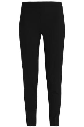 DKNY Cropped stretch-wool slim-leg pants