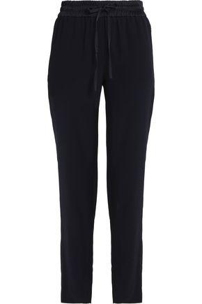 DKNY Satin-crepe track pants