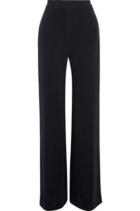 BRANDON MAXWELL Crepe flared pants