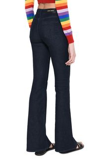 ALBERTA FERRETTI Boot-cut jeans in Japanese denim Jeans Woman d