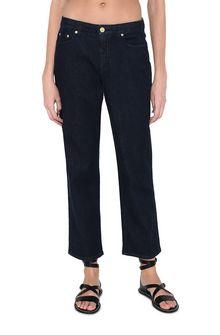 ALBERTA FERRETTI Boyfriend jeans in Japanese denim Jeans Woman r
