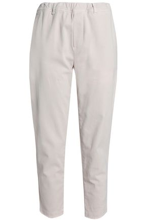 JAMES PERSE Cotton-blend twill tapered pants