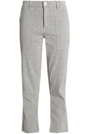 JAMES PERSE Cotton-blend straight-leg pants