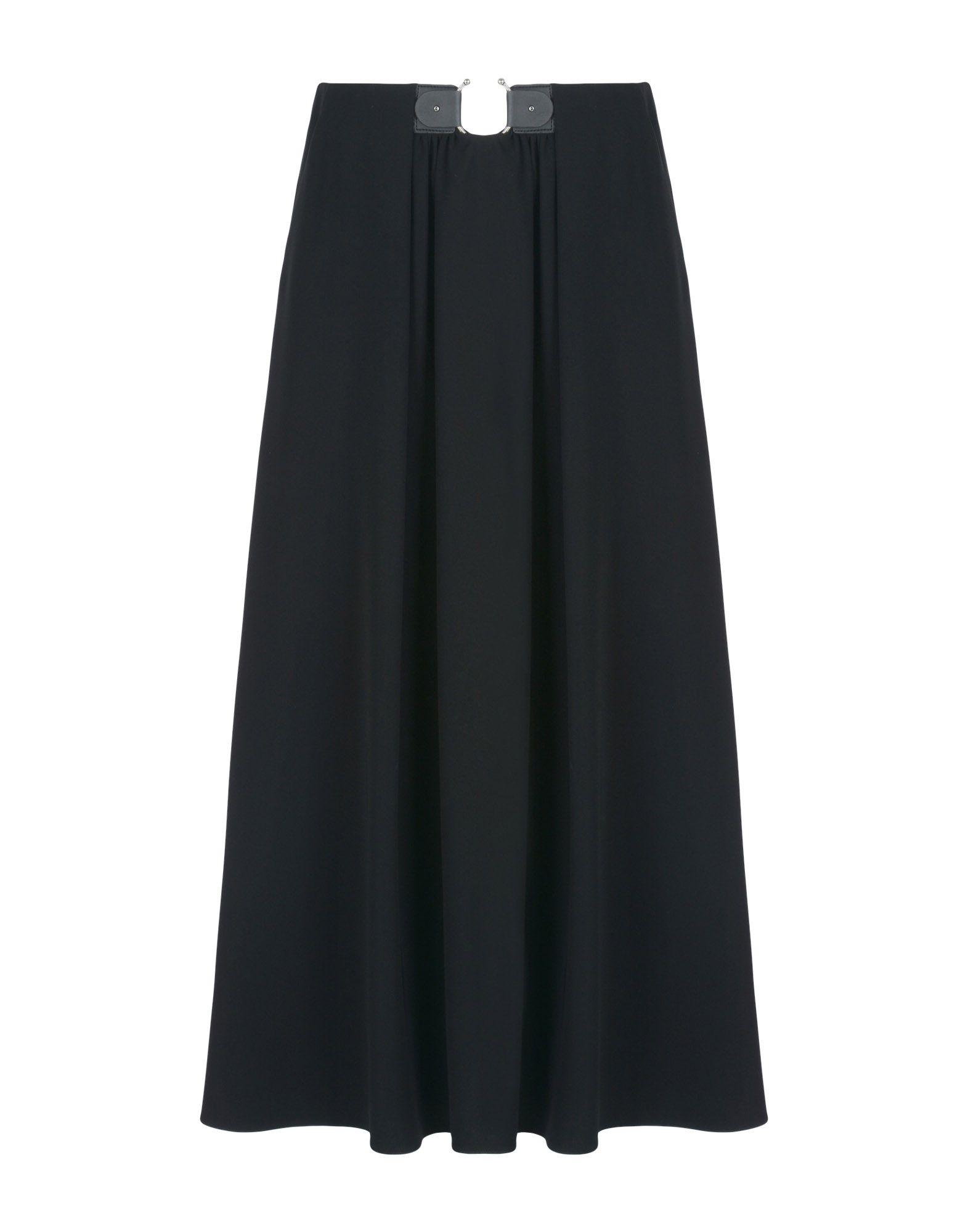 GIORGIO ARMANI Длинная юбка giorgio armani комбинированные брюки юбка