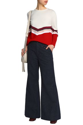 SEE BY CHLOÉ High-rise wide-leg jeans