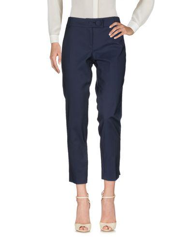 Фото - Повседневные брюки от STRETCH by PAULIE темно-синего цвета