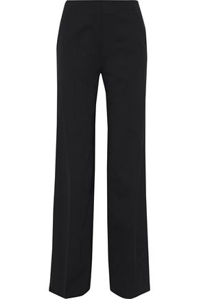 PROENZA SCHOULER Stretch Virgin wool-twill wide-leg pants