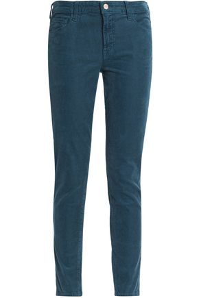 J BRAND Cotton-blend corduroy slim-leg pants